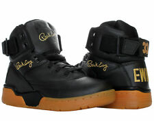 Ewing Athletics Ewing 33 Hi Black/Gold Gum Men's Basketball Shoes 1EW90124-046