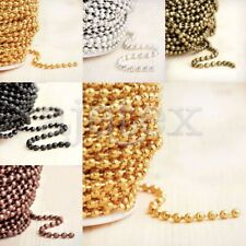 4m/13.12 feet Iron Ball Chain Unfinished Chains 2.4x2.4mm Hot Sale DIY