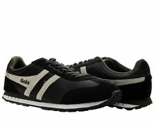 Gola Boston Black/Ecru/Green Men's Running Shoes CMA297BC
