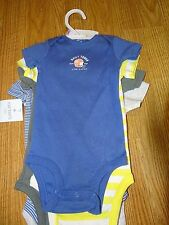 Carters Infant Boys Little Layette One (5) Piece Football  Size NB/9 Months NWT