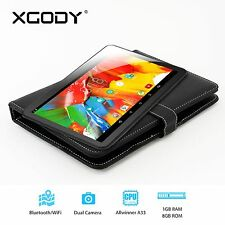 Android 5.1 Tablet PC 10.1'' HD Touchscreen Quad Core 1.33GHz Dual Camera 8GB US