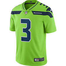 Nike NFL 2017 Color Rush Limited Edition Seattle Seahawks Russell Wilson Jersey