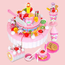 Kitchen Toy 1 PC Layer Birthday Cake Gift Child Cheerful Double Girl Birthday