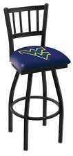 West Virginia Mountaineers Bar Stool with Swivel Seat