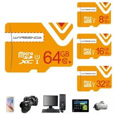NEW Memory Card Micro SD Card Micro SDHC SDXC Transflash TF Card W/Free Adapter