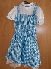 DOROTHY   FANCY DRESS OUTFIT FROM THE WIZARD OF OZ SIZE 8-10