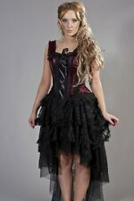 Gothic Victorian Steampunk Vintage Prom Party Victorian Evening Corset Dress