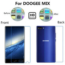 Front+Back Clear/Anti Glare Matte Full Body Screen Protector For DOOGEE MIX Lot