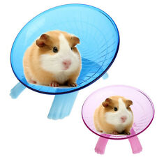 "Flying saucer exercise wheel hamster gerbil cage toy 7.09"" medium spinner"