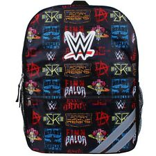 "WWE JOHN CENA ROMAN REIGNS 16"" Full-Size Backpack w/Optional Insulated Lunch Box"