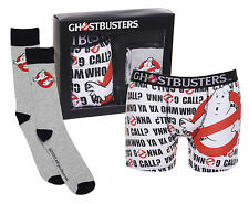 Official Ghostbusters Boxer Shorts And Socks Set t