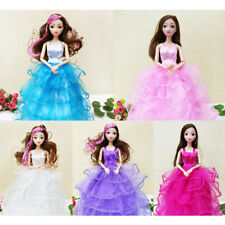 26cm Fashion Party Doll Dress Clothes Gown Clothing for Barbie Accessories