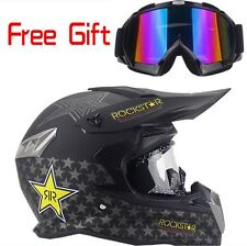 MotoCross  Racing Helmet Xtreme Sports Off Road for ATV  Dirt Bike With Gift