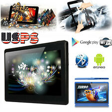 "7"" Kid Android 4.4 A33 Quad Core Tablet PC 8GB WIFI Bluetooth HD Touch Screen US"