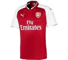 Puma Arsenal 2017/18 Youth Home Jersey Short Sleeve Red/White 1707
