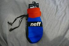 NEW Neff ripper snow mitts red blue snow boarding skiing work warm