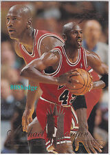 Selection of Michael Jordan NBA Fleer/Ultra Basketball cards From 1993 - 1997