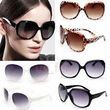 Retro Big Women Vintage Shades Oversized Designer Sunglasses Eyewear Classic