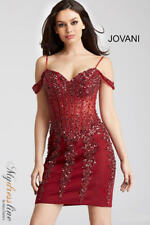 Jovani 55226 Short Cocktail Dress ~LOWEST PRICE GUARANTEE~ NEW Authentic