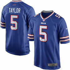 Authentic Nike NFL Game Edition Buffalo Bills Tyrod Taylor #5 Jersey NWT