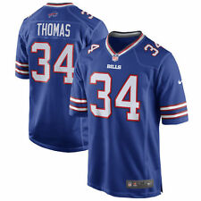 Authentic Nike NFL Game Edition Buffalo Bills Thurman Thomas #34 Jersey NWT