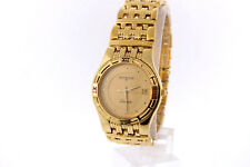 Men's Wittnauer 11B03 Laureate Gold Plated Stainless Gold-tone Dial Date Watch