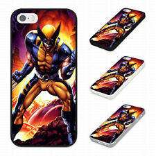 UNHAPPY ANGRY WOLVERINE CLAWS Rubber Phone Case Cover Fits Iphone Models