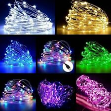 5M 50LED USB LED Copper Wire String Fairy Light Strip Lamp Xmas Party Waterproof