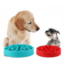 Water Bowl 1 Pcs Dog Cat Slow Feeder Hot Bloat Pet Feed Dish Bowl Puppy