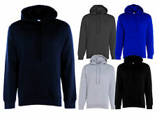 New Men's Plain Hooded Sweatshirt Blank Heavy Blend Pullover Hoodie Sweat Top