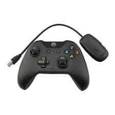 New Black 2.4GHz Wireless Game Controller Joypad for Xbox One Microsoft PC #A