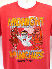 General Mills Midnight Munchies T-shirt Men's (m-XL) MONSTER CEREAL FAN TEE NEW!