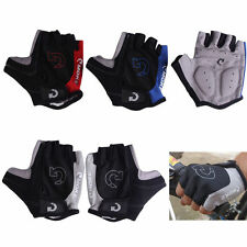 Unisex Cycling Gloves Bicycle Motorcycle Sport Half Finger Gloves S- XL Size #A