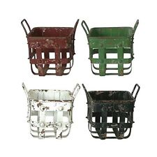 Creative Co-Op Metal Basket - farmhouse country vintage style decor
