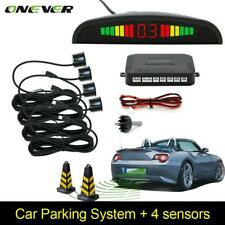Car Auto 4 Parking Sensors LED Display Backup Reverse Radar System Alarm Kit