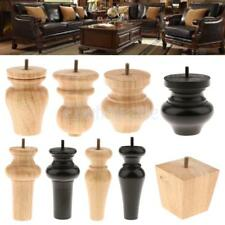 4PCS Solid Wooden Furniture Legs;Feet, Sofa /Couch/Lounge/Chair/Bed/Table Legs