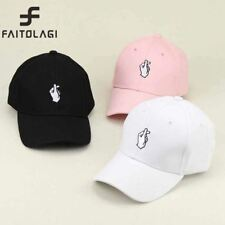 1Pcs Love Gestures Finger Embroider Golf Baseball Cap Men Women Snapback Hats Fl