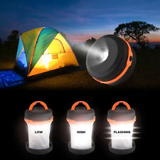 Portable 4-Modes LED Camping Light Outdoor Tent Lantern Travel Hiking Light Hot