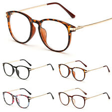 Unisex Women Men Retro Fashion Clear Lens Glasses Nerd Geek Eyewear Eyeglasses