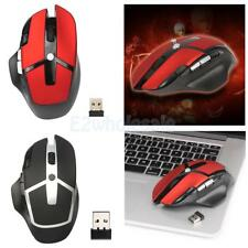Wireless Gaming Mouse 2.4G Computer Optical Game Mice 2400DPI for Computer