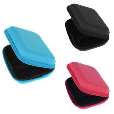 Hand Carry Case Pouch Storage Box for Earphone Earbuds Headphone MP3 Player