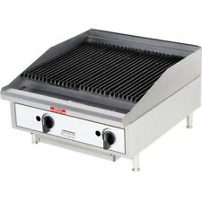Toastmaster TMRC24, 24-Inch Countertop Radiant Gas Charbroiler, UL