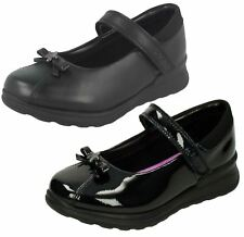 """Infant Girls Clarks Patent And Leather """"Gloforms"""" School Shoes - Mariel Wish Inf"""