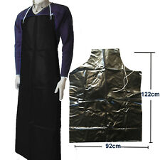 PVC Budget Food Industry Aprons Heavy Duty Black Blood Fat Resistant Work Apron