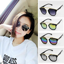Men Women Aviator Retro Vintage UV400 Sunglasses Shades Eyewear Glasses Unisex