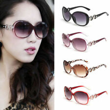 Retro Vintage Womens Shades Oversized Eyewear Classic Designer Sunglasses UV400