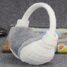 Winter Earmuffs Women Warm Unisex Ear Muffs Soft Cover Knitted Plush Warmers Hot