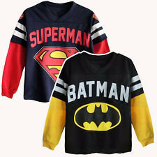 Kids Boys Baby Girls Spiderman Hero Long Sleeve Tops T Shirt Clothes Sweatshirt