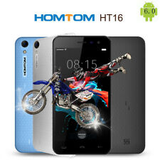 "Homtom HT16 Android 6.0 5"" 3G Smartphone MTK Quad Core 8G GPS Unlocked Dual SIM"