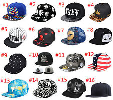 New Men's Snapback Hat Baseball Cap adjustable Sport Hip Hop Unisex Hats Fashi X